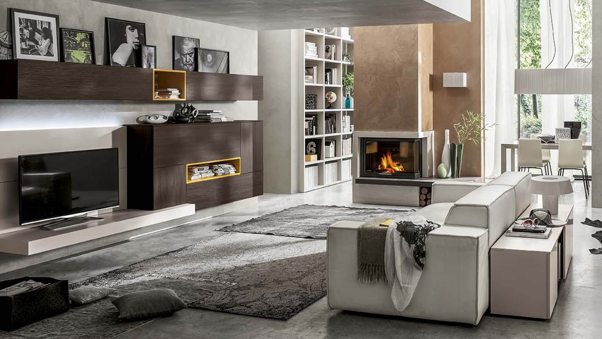 Vendita di mobili per soggiorno a padova mobili da for Immagini living moderni