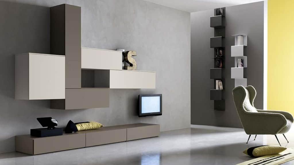 Mobili da soggiorno moderni arredamenti meneghello for Immagini mobili soggiorno moderni