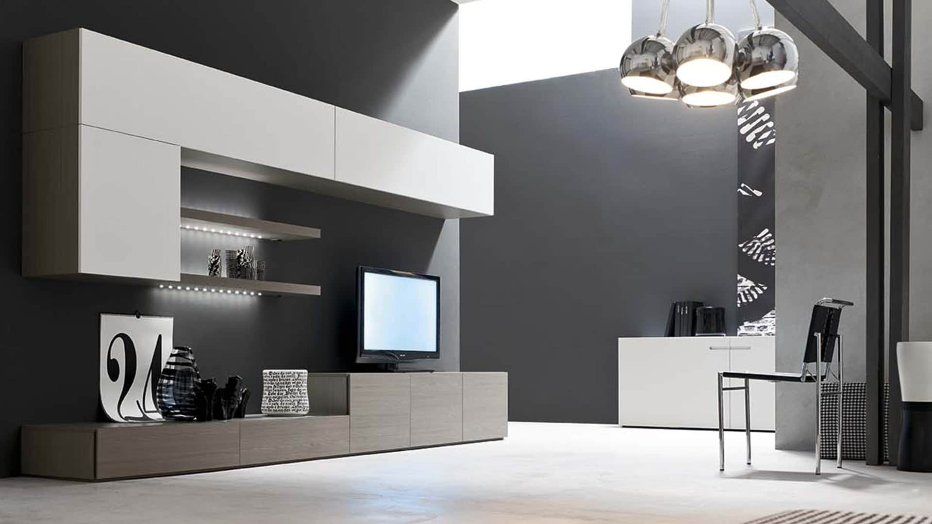Soggiorni mobili economici idee per il design della casa for Mobili da soggiorno moderni