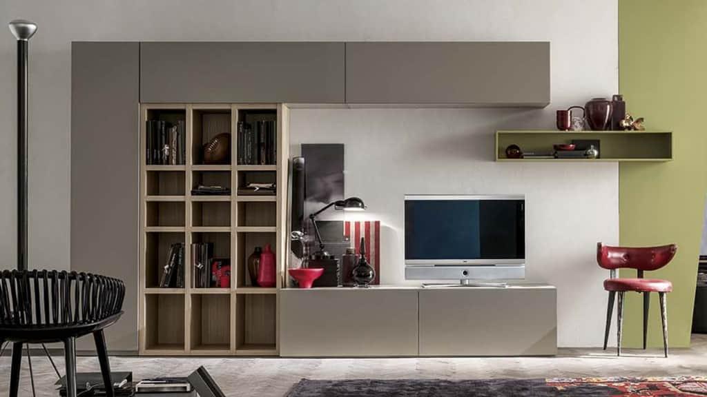 parete attrezzata mobili da soggiorno