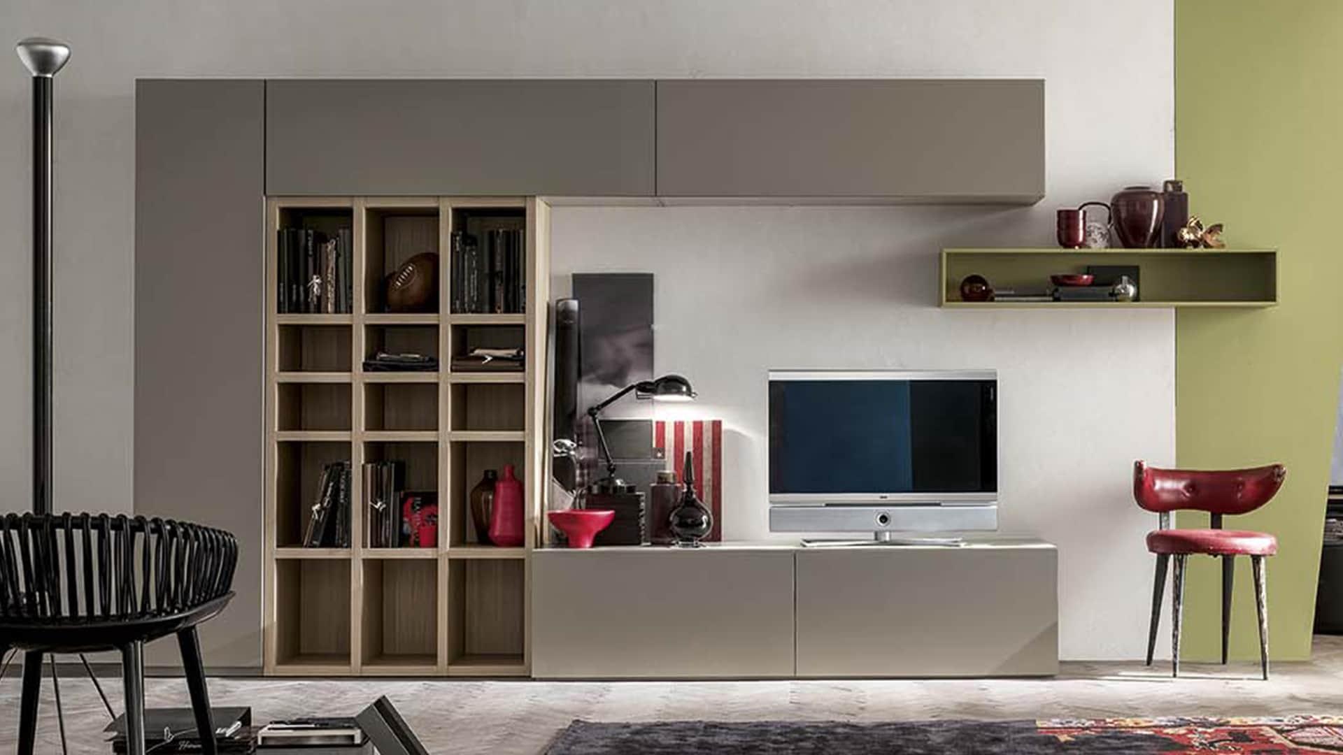 mobili contenitori da parete design casa creativa e