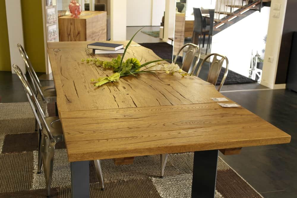 Tavoli In Legno Massello : Tavolo legno massello allungabile albenga tavolo da pranzo