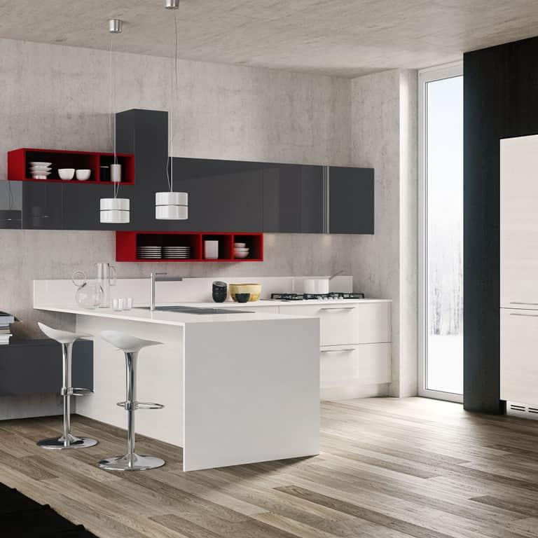 Vendita cucine padova negozio di arredamento cucine for Isola cucina moderna