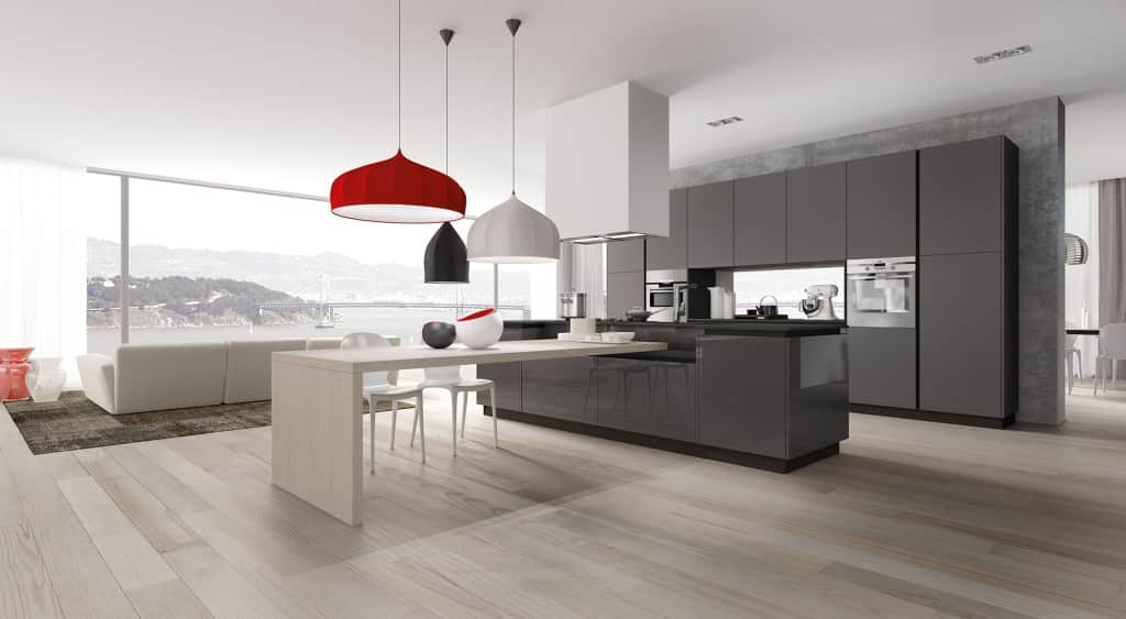 cucine ad isola moderne -
