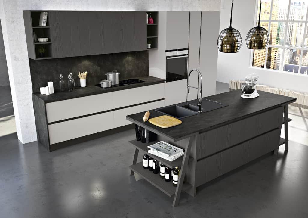 Cucine moderne con isola arredamenti meneghello - Cucine con isola moderne ...