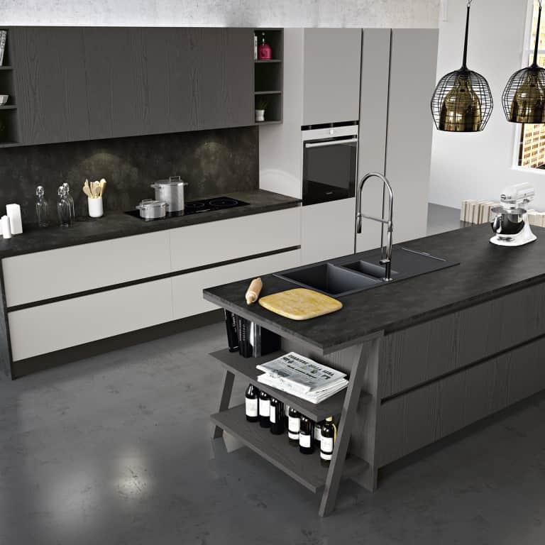 Vendita cucine padova negozio di arredamento cucine - Cucine moderne con isola lube ...