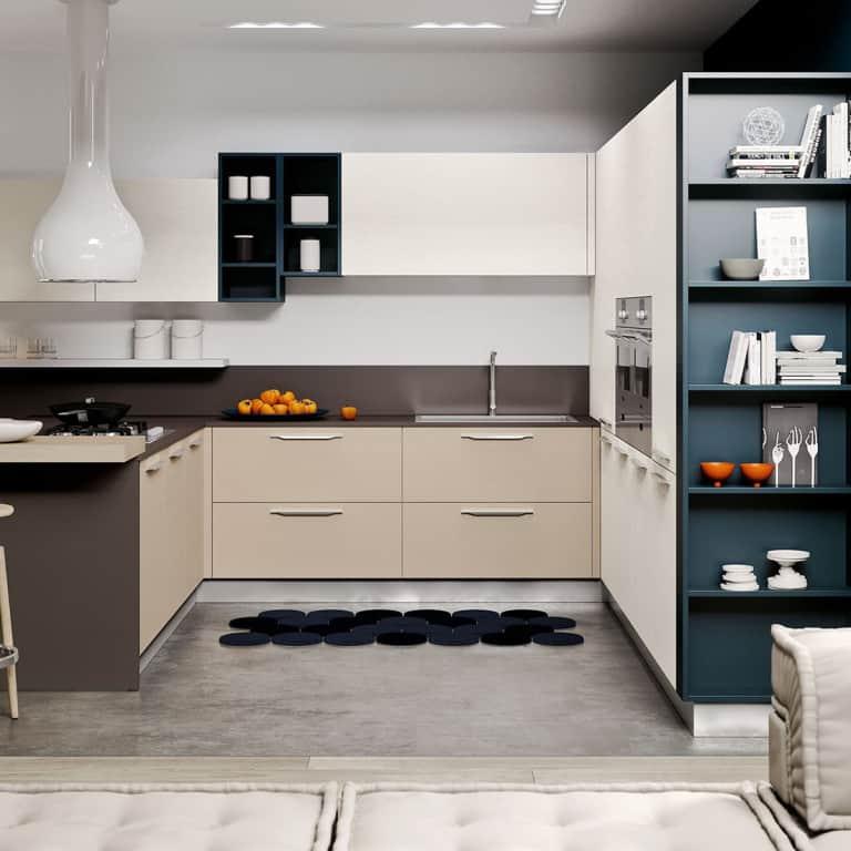 Vendita cucine padova negozio di arredamento cucine - Penisola cucina moderna ...