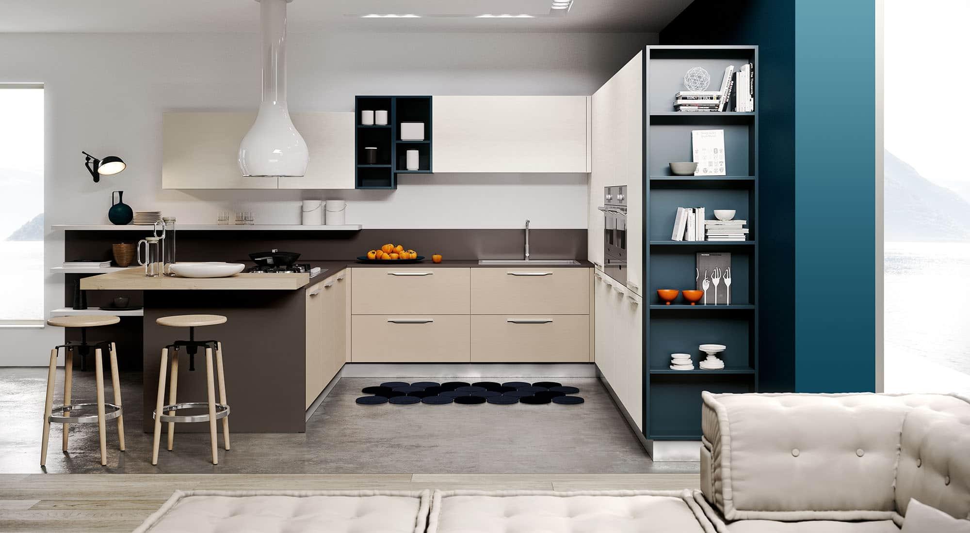 Vendita cucine padova negozio di arredamento cucine - Cucine moderne piccole ad angolo ...