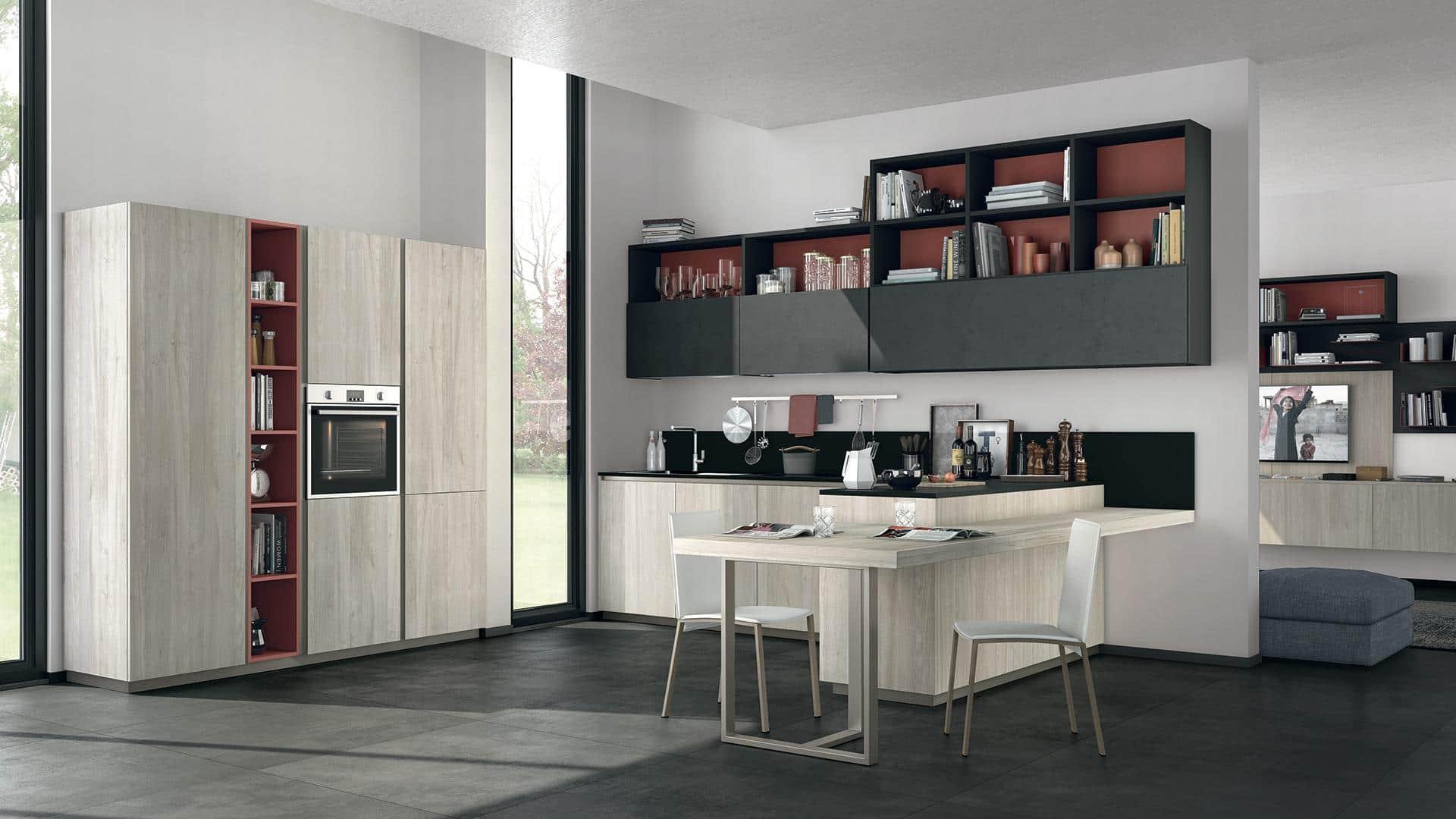Vendita cucine moderne a padova - Cucine con isola lube ...