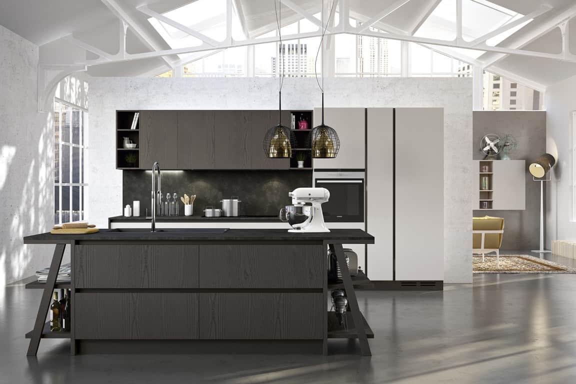 Vendita di cucine moderne a padova - Cucina moderna con isola ...
