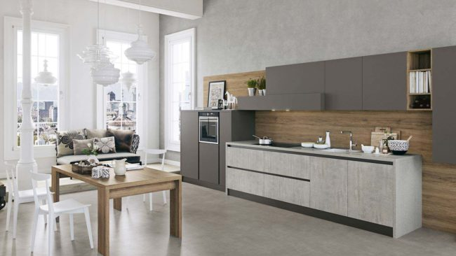 Cucine lineari moderne padova anche in offerta - Comporre una cucina ...