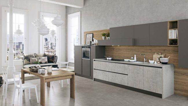 Cucine lineari moderne padova anche in offerta for Cucine arredo tre