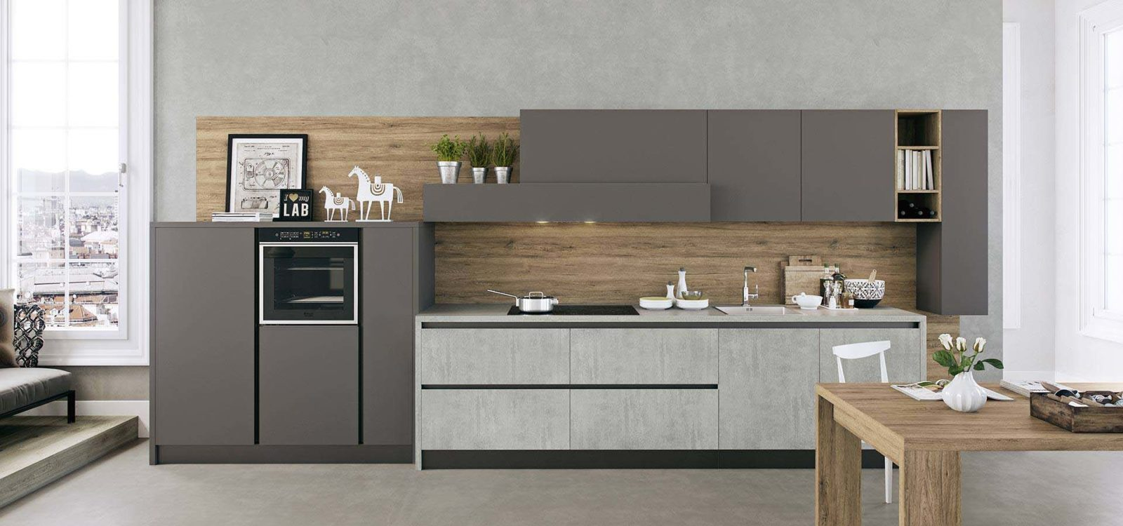 Beautiful Cucina Moderna Lineare Photos - Skilifts.us - skilifts.us