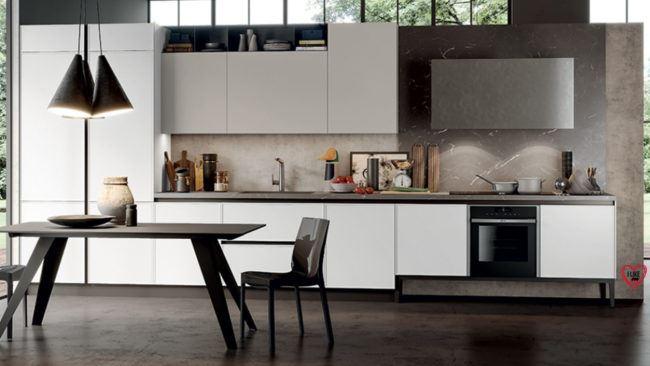 Cucine lineari moderne Padova anche in offerta.