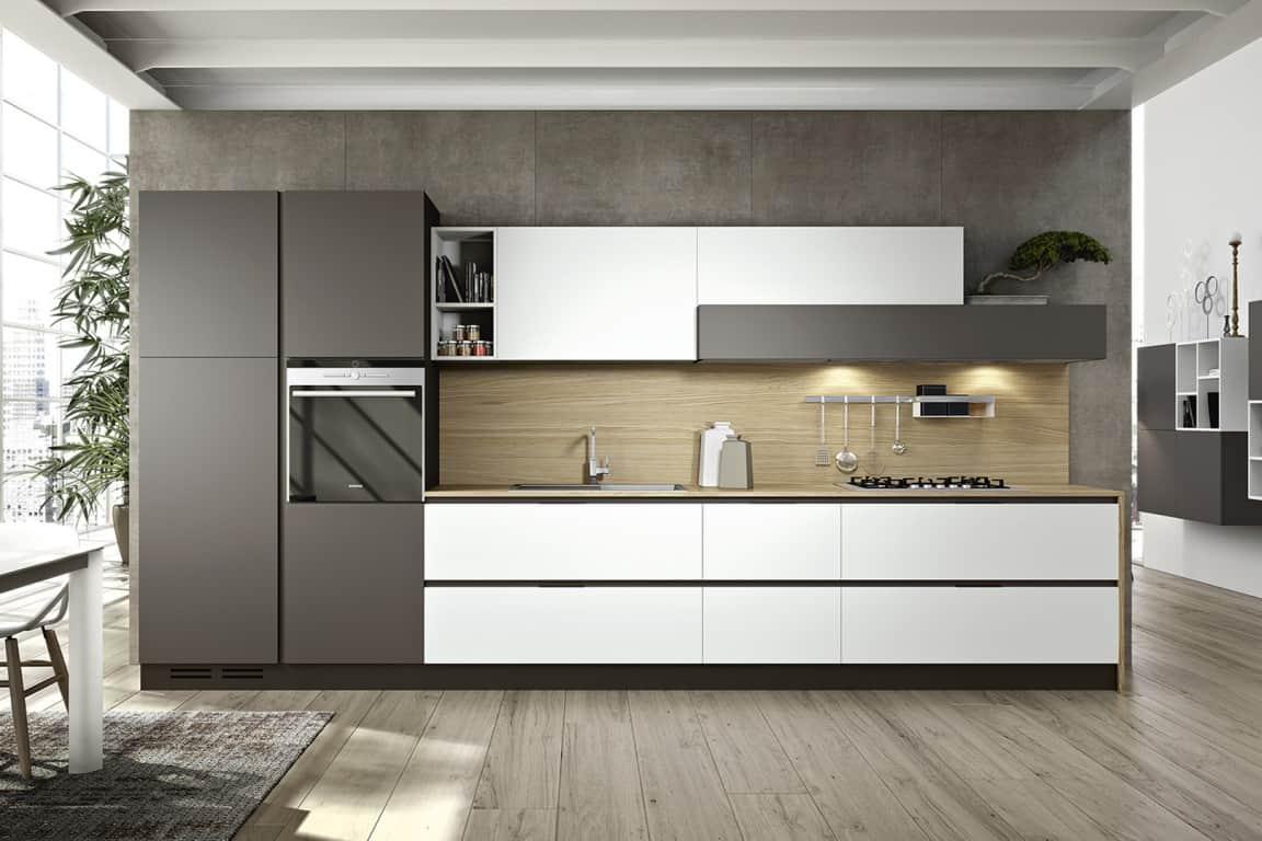 Favori Cucine Moderne Lineari: Cucine lineari moderne le sono la  JG65