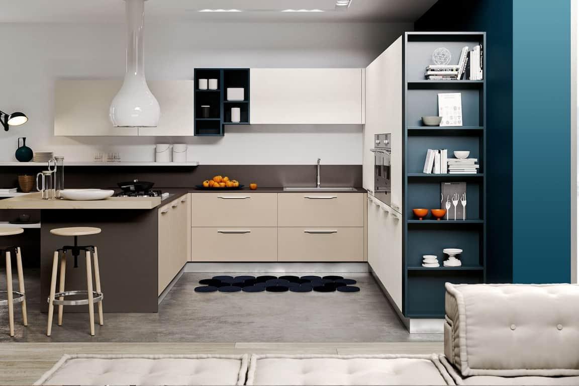 Stunning panca cucina moderna contemporary ideas for Casa moderna