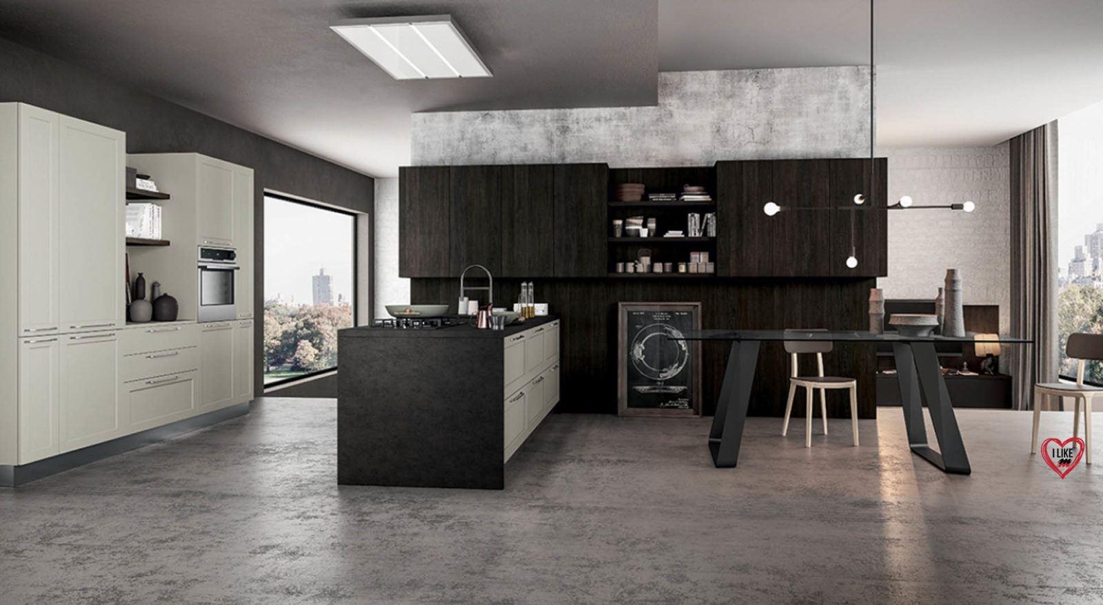 Cucine moderne con penisola padova - Schiffini cucine ...