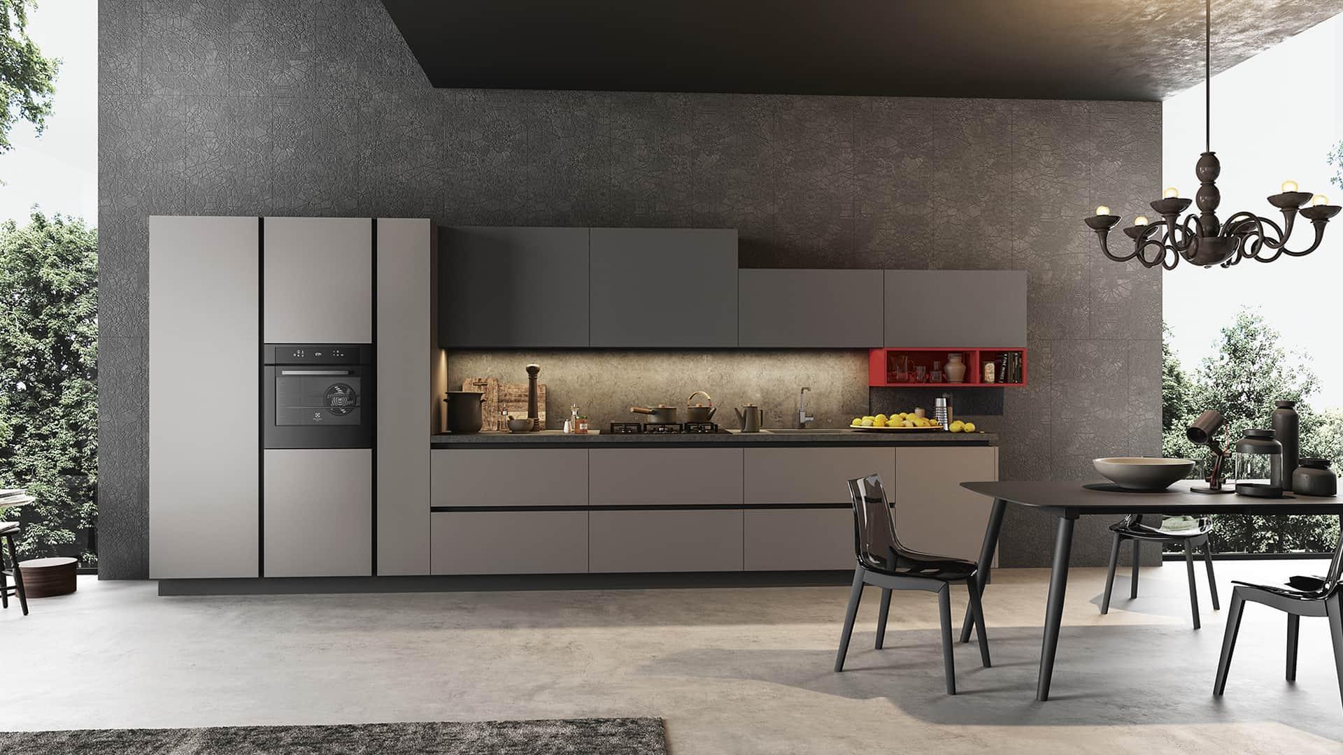 Cucine lineari moderne padova anche in offerta for Design di mobili cool