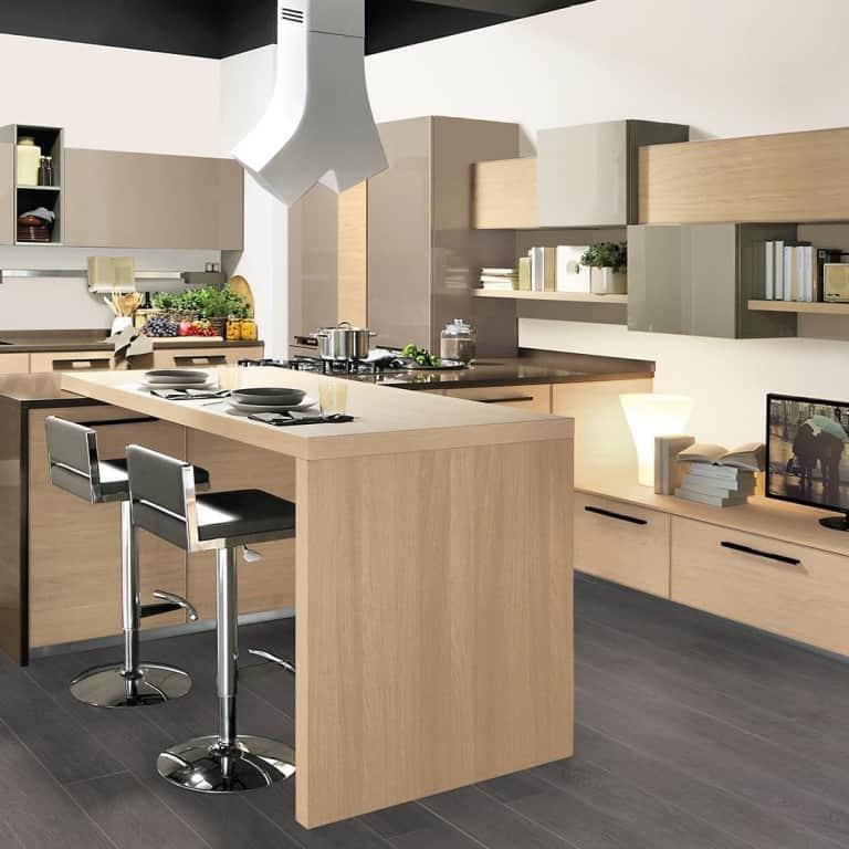 Cucine moderne con penisola padova for Cucina penisola