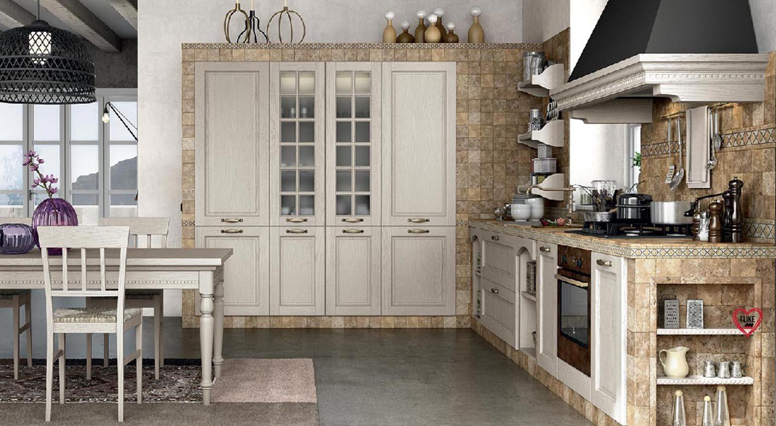 Vendita di cucine classiche in muratura a padova marchio lube - Cucine in muratura lube ...