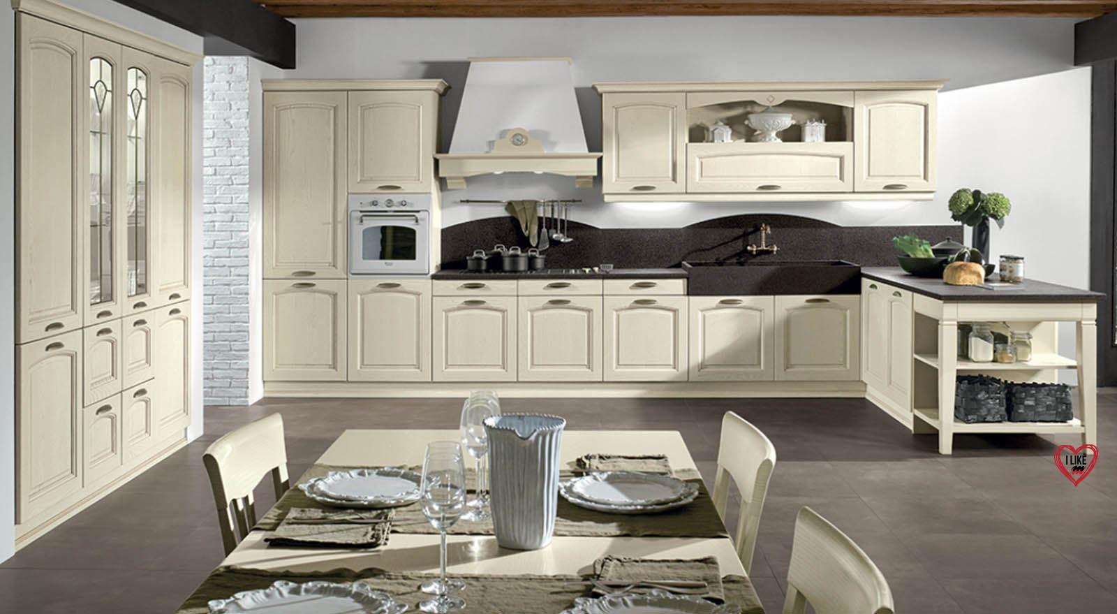 Vendita di cucine classiche a padova cucine eleganti e in muratura in offerta - Cucine in legno chiaro ...