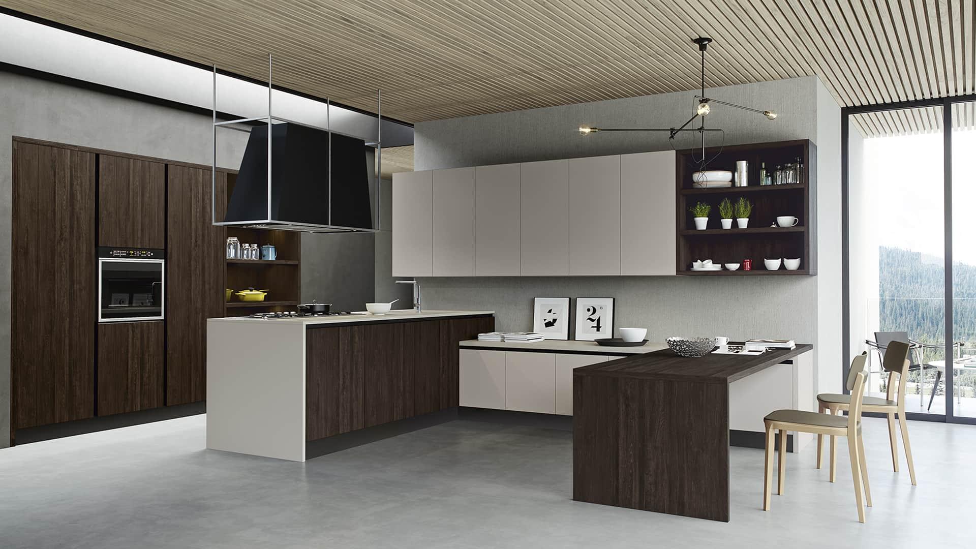 Cucine moderne con penisola padova for Cucine economiche moderne