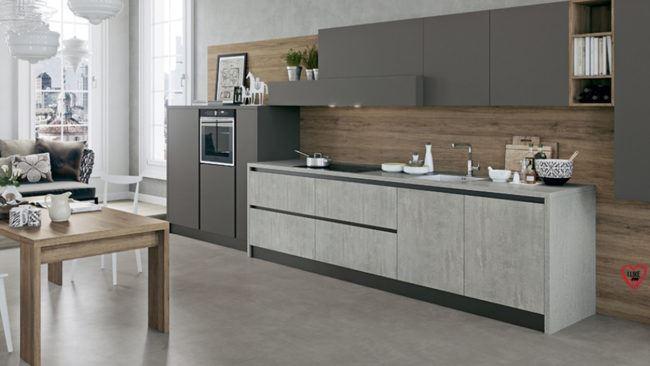 Cucine Moderne Lineari 3 Metri.Cucine Lineari Moderne Padova Anche In Offerta