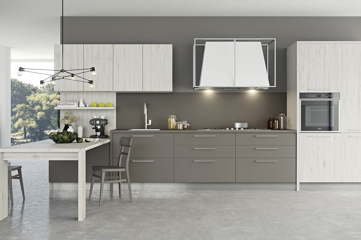 spesso Cucine Moderne Di 4 Metri | madgeweb.com idee di interior design CU76