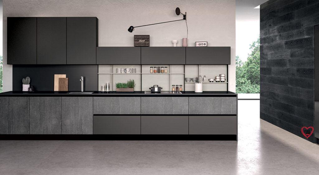 Cucine lineari moderne offerte arredamenti meneghello for Arredamenti lissone offerte