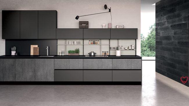 Cucine lineari moderne padova anche in offerta - Cucina lineare 3 metri senza frigo ...
