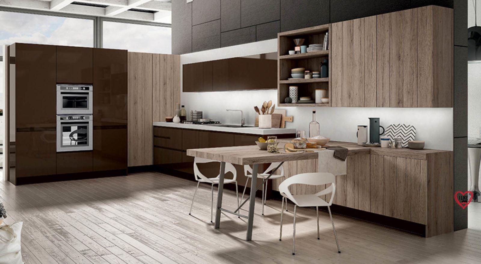 Cucine angolari moderne a padova - Cucine moderne da sogno ...