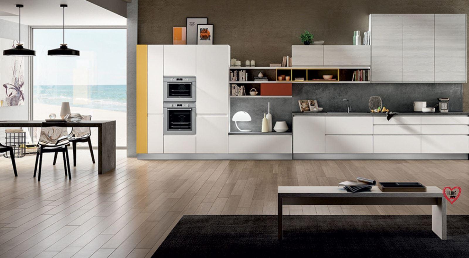 Cucine lineari moderne padova anche in offerta - Comporre la cucina ...