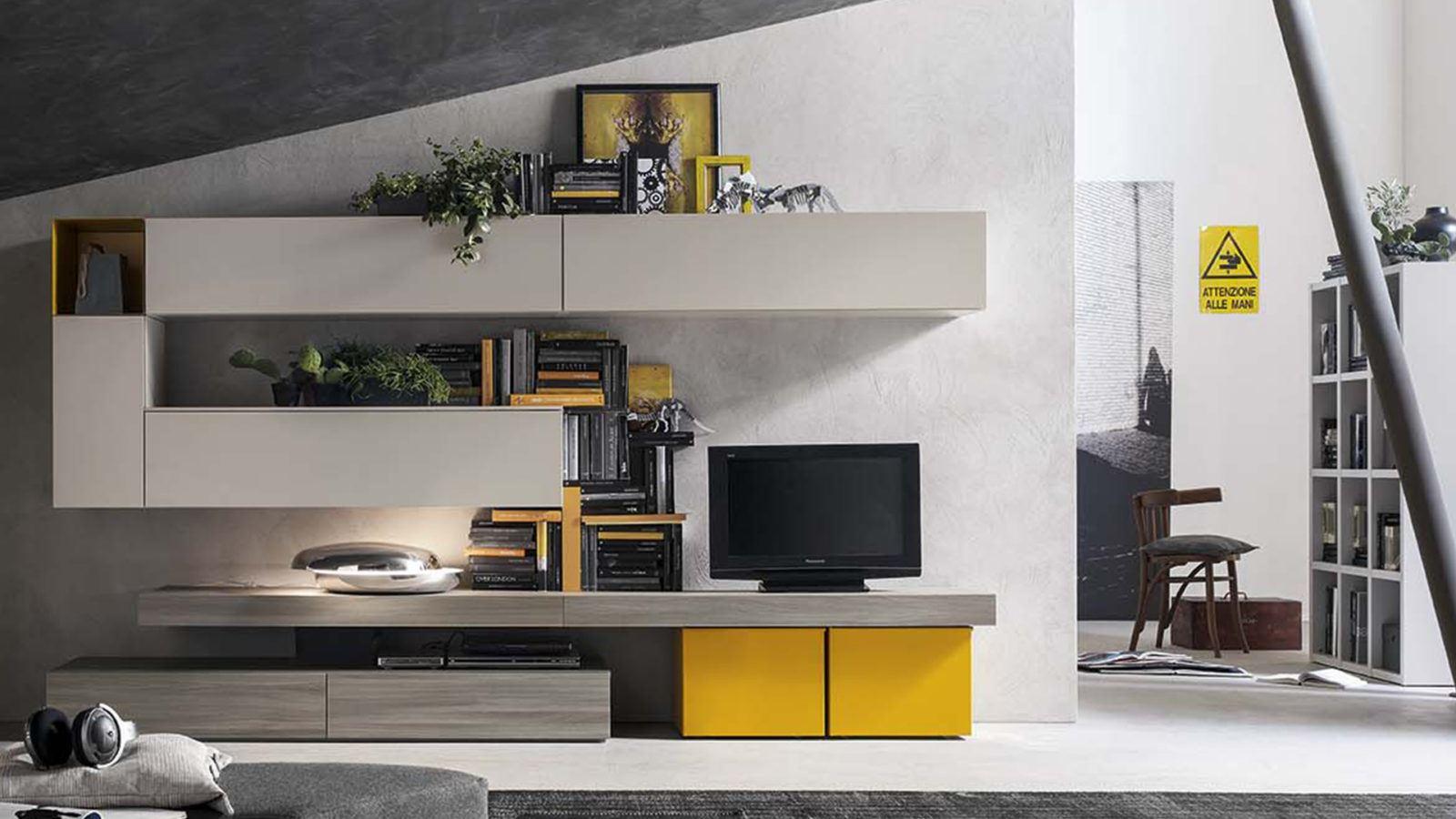 Mobili moderni per soggiorno a padova for Arredamento sala moderno