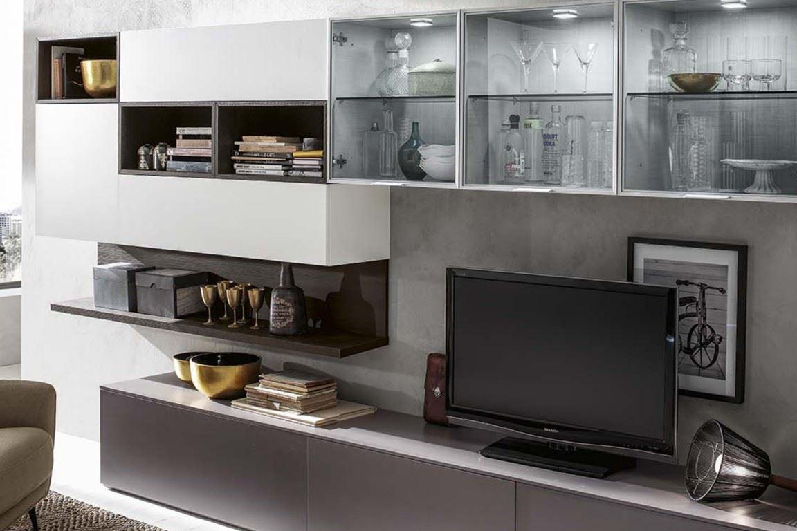 Mobili moderni per tv design casa creativa e mobili for Mobili soggiorno moderni ikea