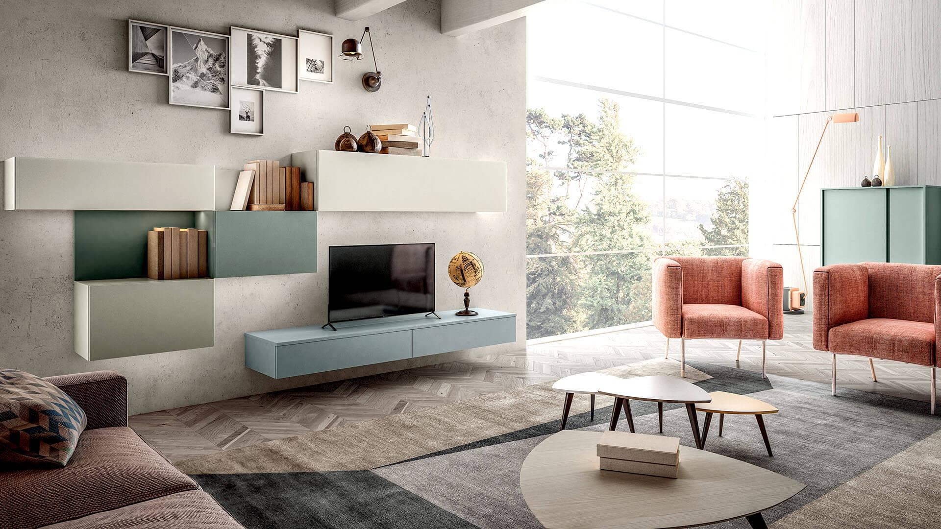arredamento per soggiorno piccolo e grande