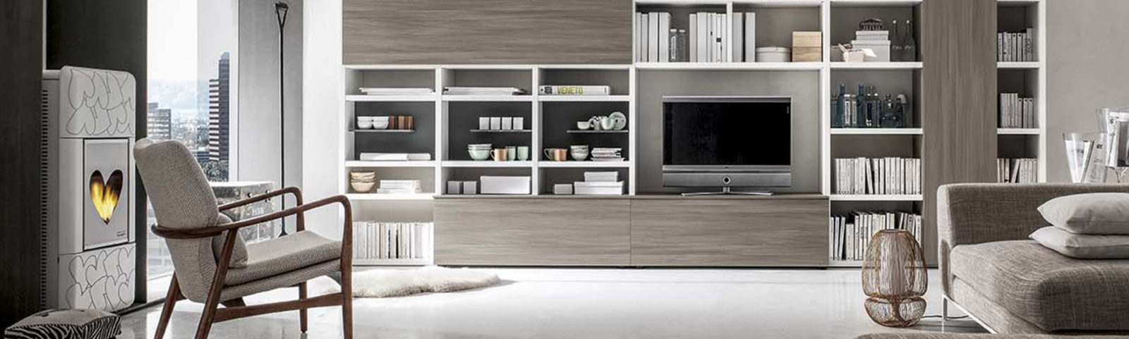 Mobili per soggiorno moderni a padova mobili arredamento for Mobili soggiorno padova