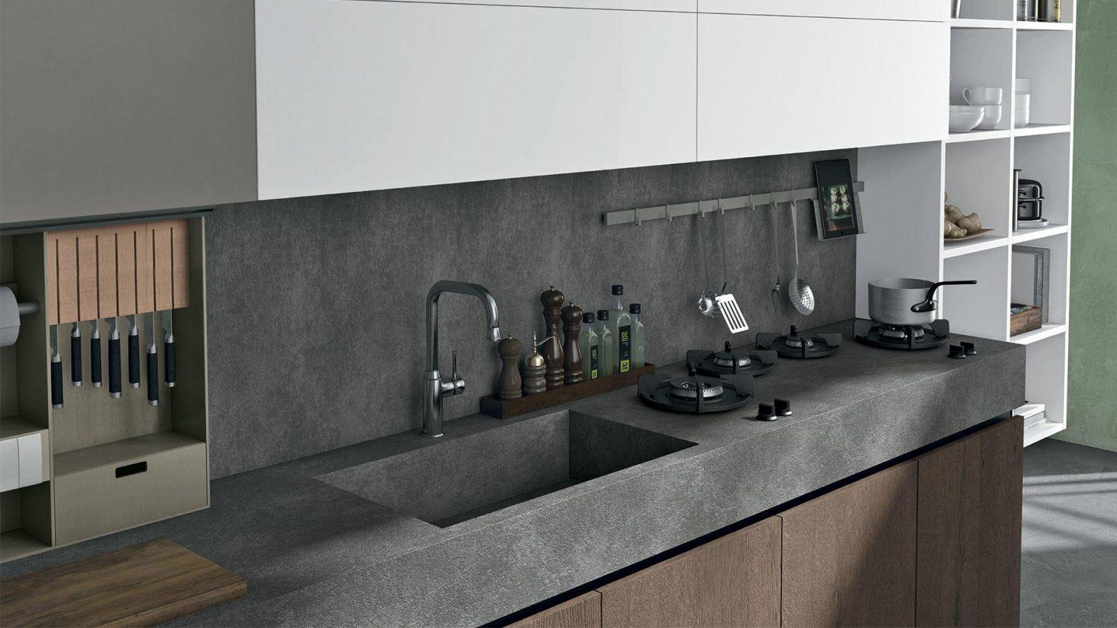 Cucine di design moderno e contemporaneo a padova - Cucine da design ...