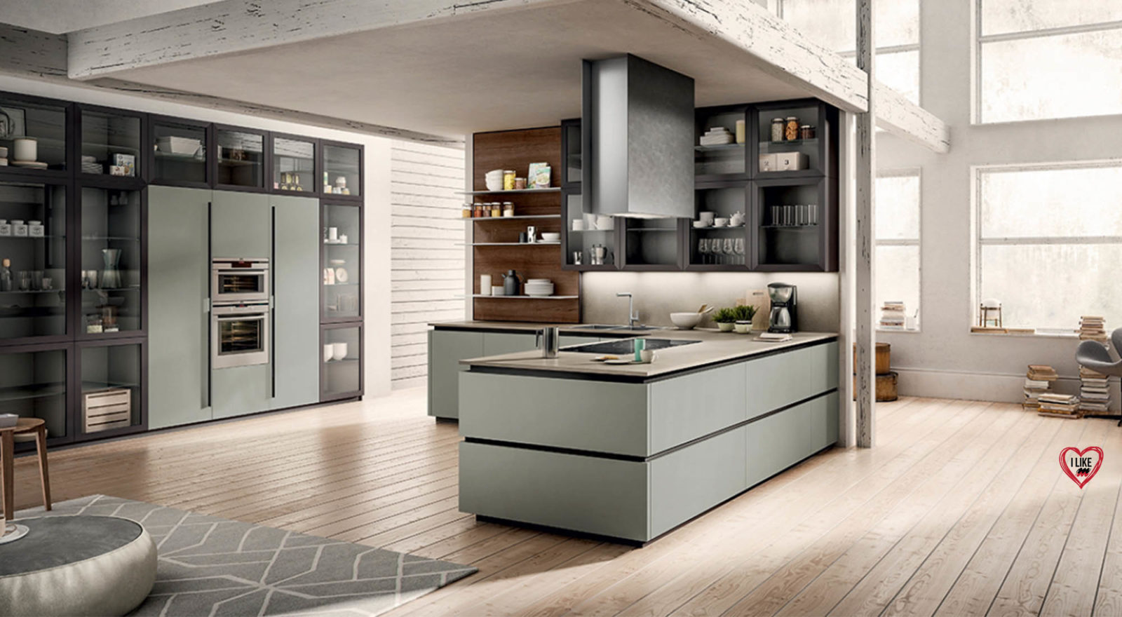 Cucina Moderna Design : Cucina moderna design arredamenti meneghello