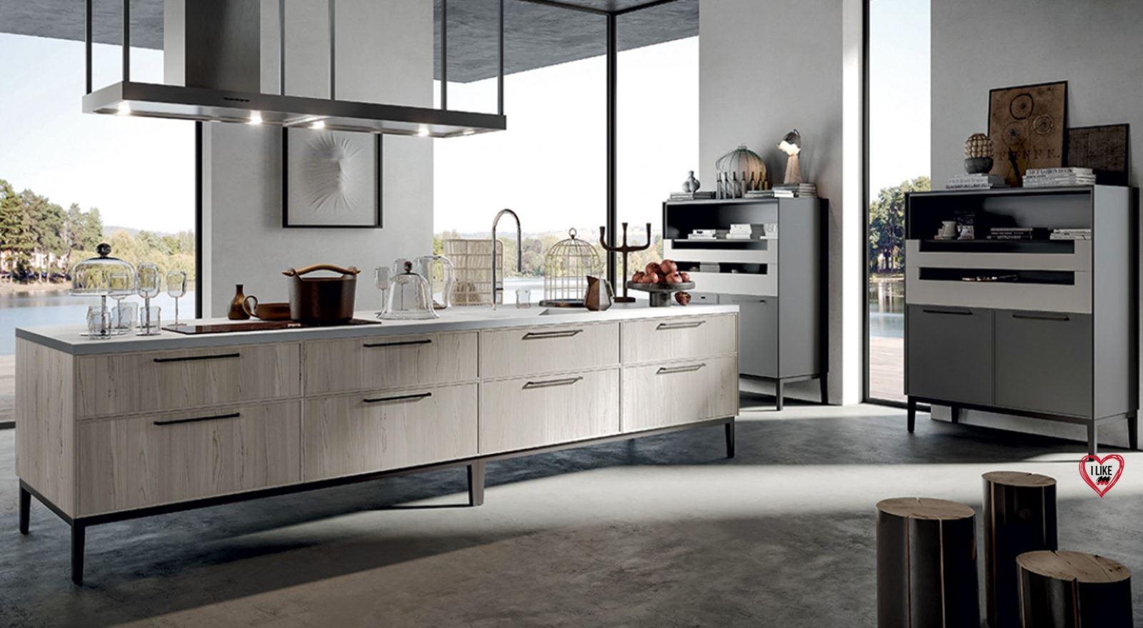 Cucine di design arredamenti meneghello for Cucine design