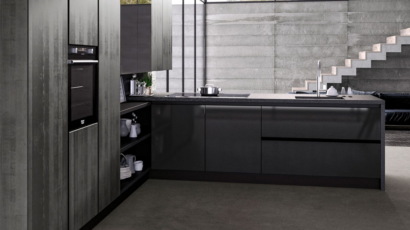 Cucine su misura a padova progettazione gratuita - Cucine a padova ...