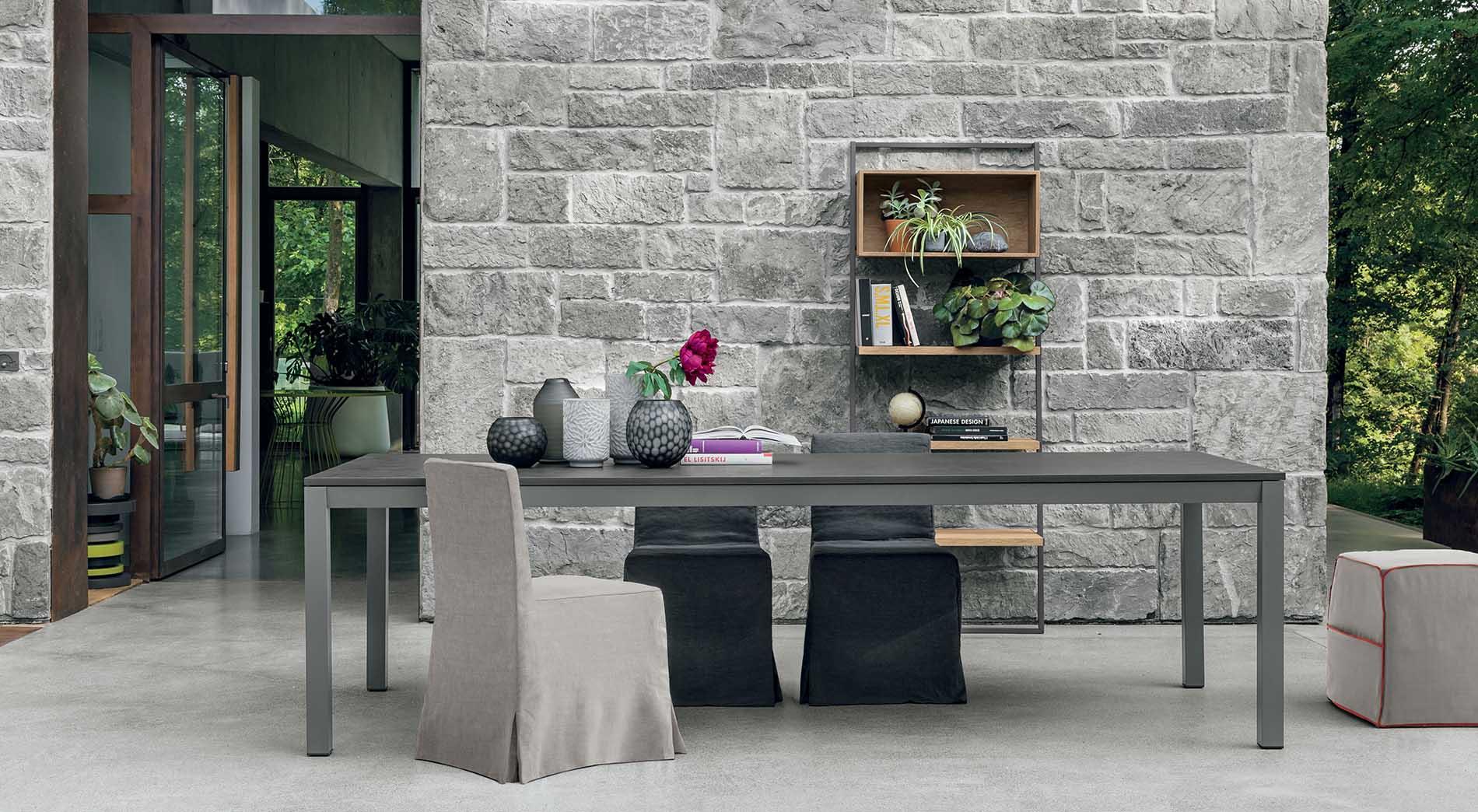 Awesome tavoli allungabili design contemporary for Tavoli outlet design