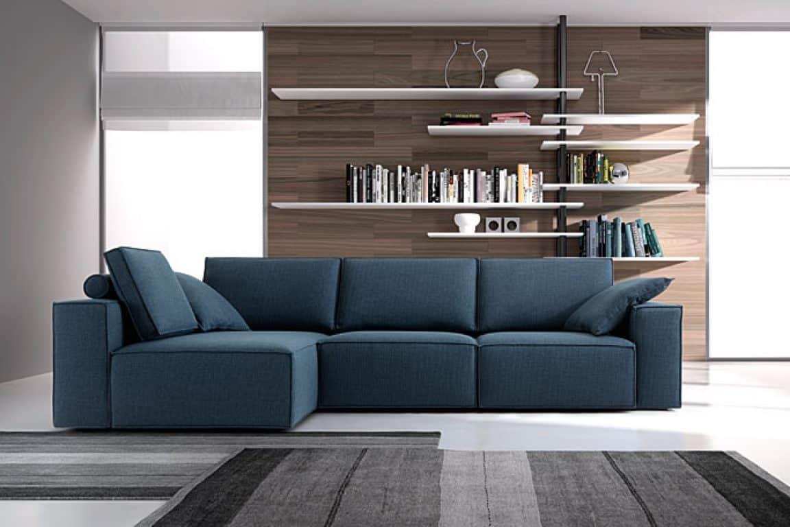 Divani bianchi angolari idee per il design della casa for Divani angolari design