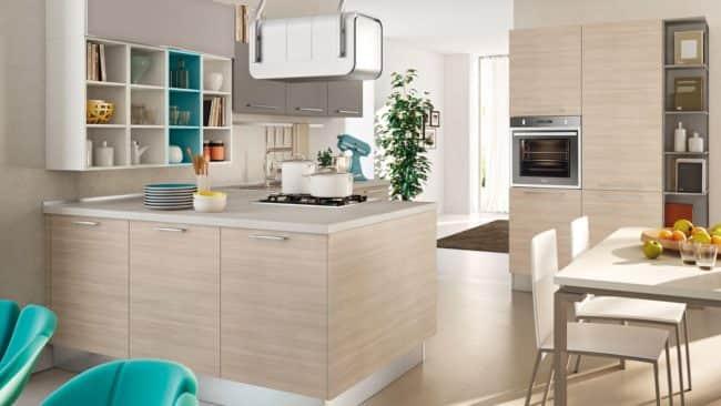 Piccole cucine moderne e componibili e con isola a padova for Arredare cucine piccole