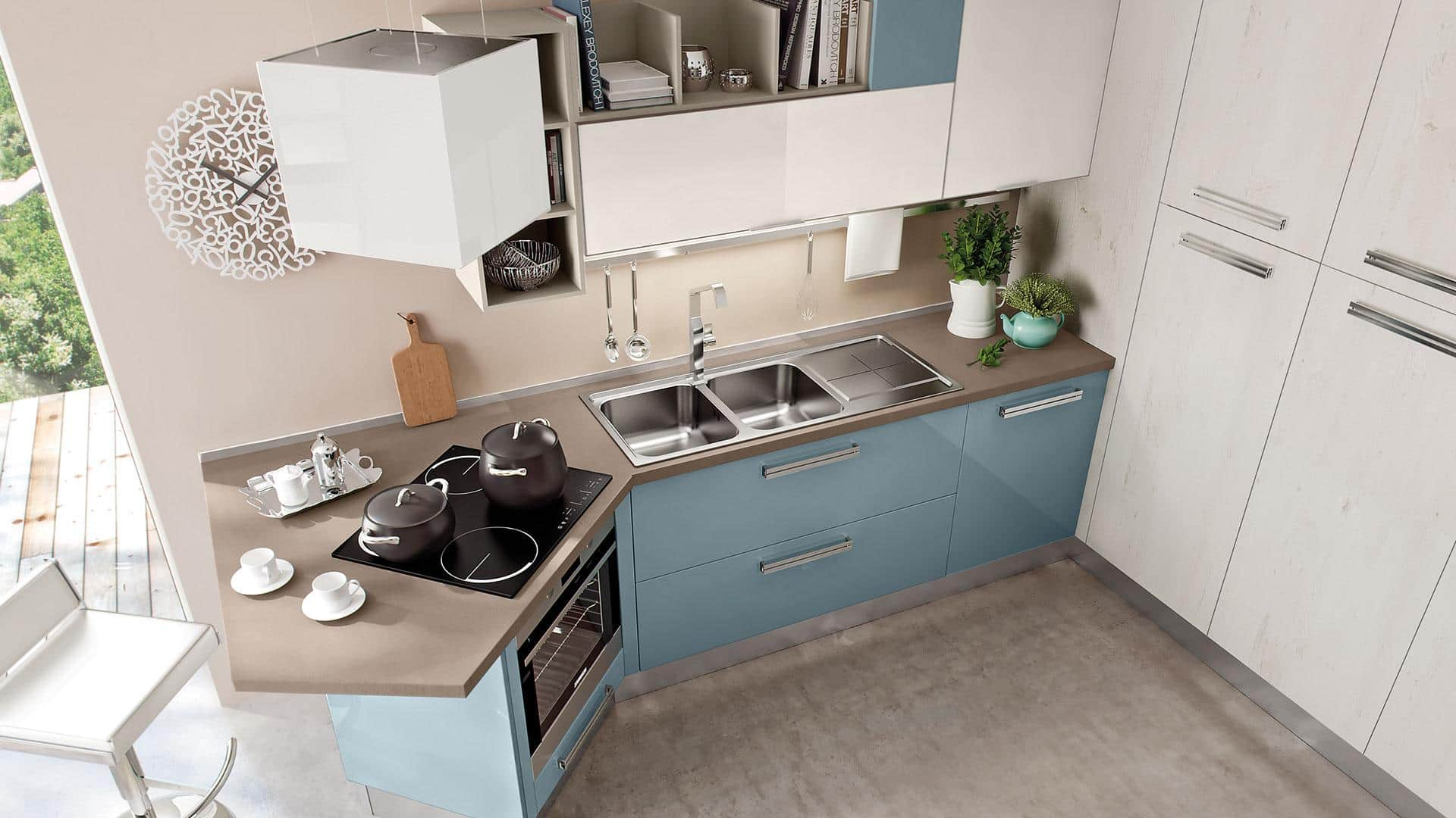 mobili per cucine piccole excellent del tongo chia cucina