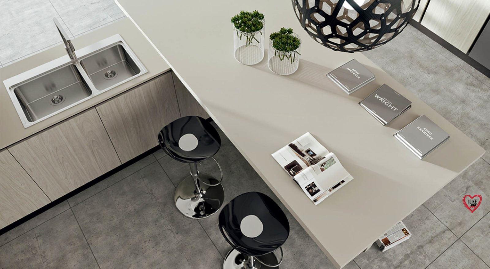 Piccole cucine moderne e componibili e con isola a padova - Arredamento cucina piccola ...