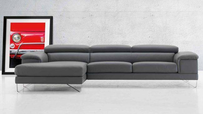 i migliori divani in pelle da arredamenti meneghello - Divano In Pelle Nera Letto