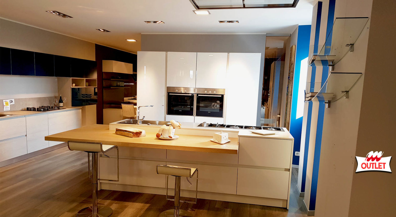 Ante Vetro Cucina cucina ante vetro e polimerico lucido -