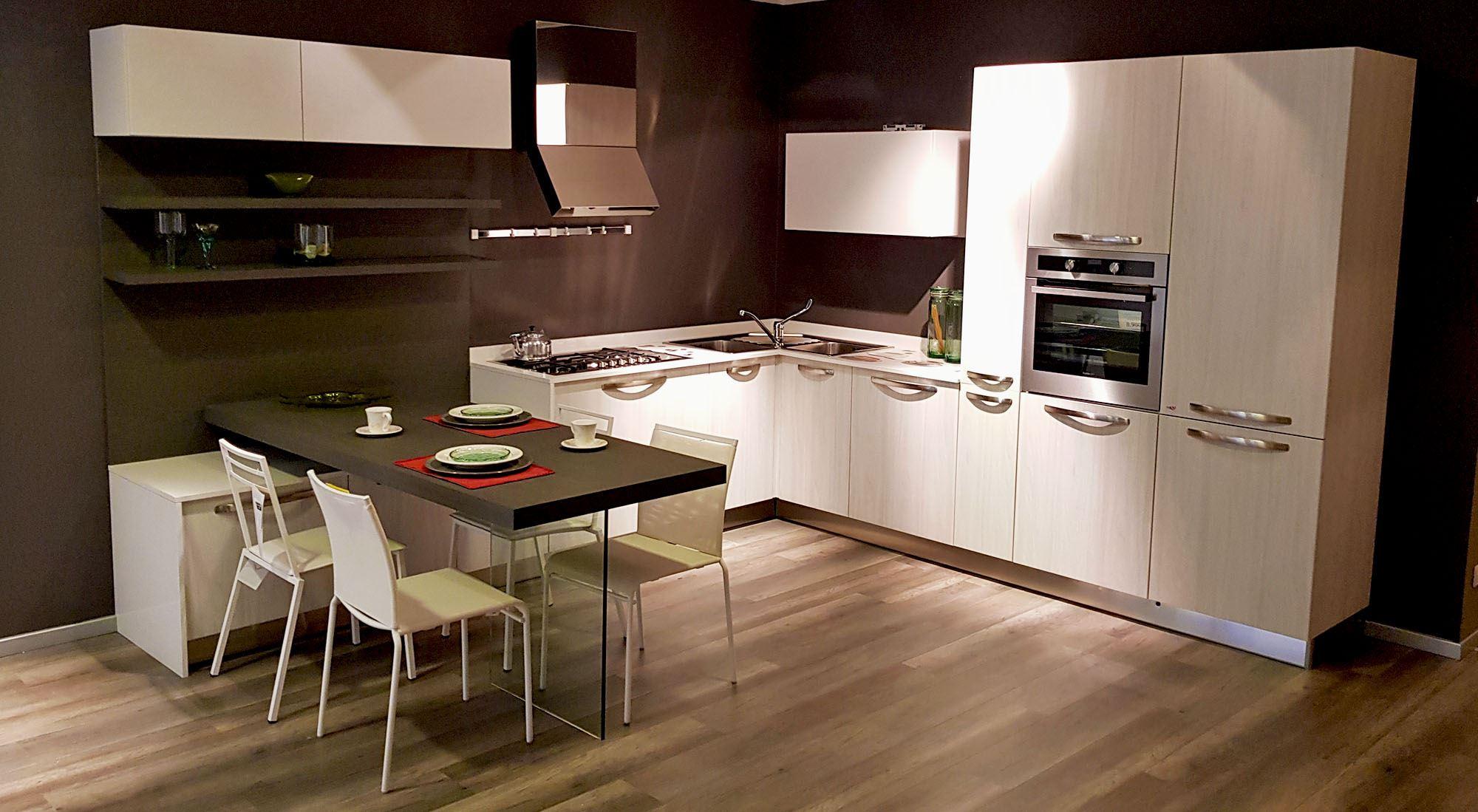 Immagini Cucine Ad Angolo cucina ad angolo olmo bianco -